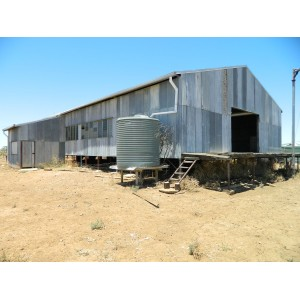 SHEARING SHED FOR REMOVAL
